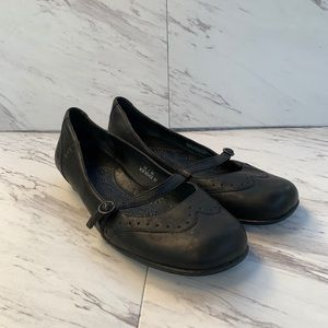 Born Concept Mary Jane Mule Low Heel Sz 10